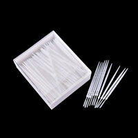 300 Pcs Plastic Dental Picks Oral Hygiene 2 Way Interdental Brush Tooth Pick GZ