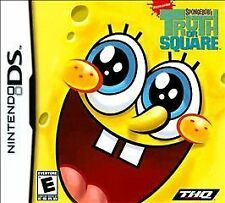 SpongeBob's Truth or Square (Nintendo DS, 2009) CART ONLY