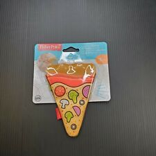 Baby Toy Pizza Slice Teether Fisher Price Baby Toy 3 months and Older