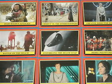 STAR WARS: ROGUE ONE 'MISSION BRIEFING' Complete Base Set 110 Trading Cards