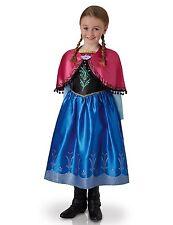 Costume Carnevale Bambina Frozen Anna Principesse Disney *05205