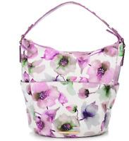 Jack French London Pimlico Violet Flower Handbag RRP £239