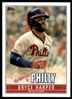2019 Topps Update Bryce Harper Welcome to Philly #BH2 Bryce Harper