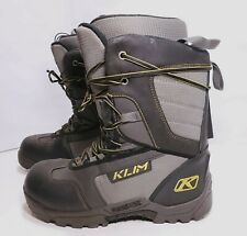 Klim Radium Gore-Tex Snowmobile/Snowboard Boots Size 10