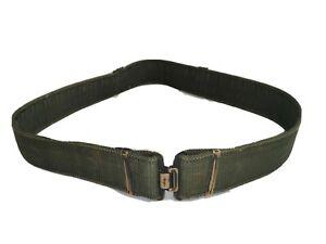 Genuine British Army Olive Green PLCE Webbing Working Belt