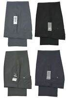 MENS NEW CARABOU FORMAL PANT TROUSER STRETCHABLE BLACK GREY NAVY DESIGNER ALL SI