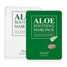 5 X BENTON Aloe Soothing Mask Pack (5 sheets) - NEW VERSION *UK Seller*