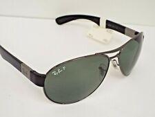 Authentic Ray-Ban RB 3509 004/9A Gunmetal Black Green Classic P Sunglasses $260