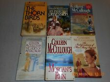 Colleen McCullough-Author (6 Standalone Books-Titles Below) Lot 2247