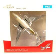 Herpa Wings 1 500 Boeing 777-300ER Etihad Vías respiratorias A6-etc 531030