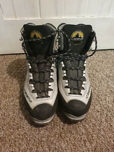 La Sportiva Trango S Evo Mountaineering Hiking boots, resoled, 41.5; UK 7.5