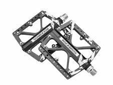 "ROCKBROS MTB Fahrrad Pedale BMX Rennrad Plattform Pedale Aluminium 9/16"" Neu"