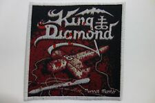KIND DIAMOND ,THE PUPPET MASTER, (WHITE BORDER)  WOVEN  PATCH