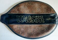 Vintage Wilson Tennis Racket Cover Leather