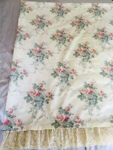 Dorma Chestnut Hill Vintage Kingsize Duvet Cover Frilled/Piped Edges Poly/Cotton