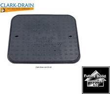 Clark Drain 600mm x 450mm 1.5 Tonne Cast Iron Manhole Cover inspection + Frame