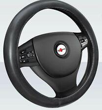 For Peugeot Citroen Soft Grip Black Leather Effect Car Steering Wheel Cover