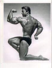 "bodybuilder Mr Olympia LARRY SCOTT Bodybuilding Muscle Photo b+w ORIGINAL 8""x10"""
