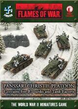 Flames of War Panssari Christie Platoon Finnish Early War Miniatures FIX01