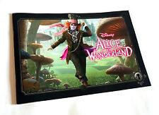 ALICE IN WONDERLAND JAPAN MOVIE PROGRAM BOOK 2010 Tim Burton Johnny Depp Disney