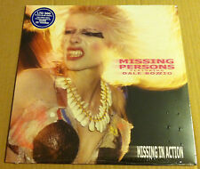 Dale Bozzio MISSING PERSONS In Action ONLY 500 MADE CLEAR BLUE  Vinyl LP SEALED