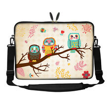 "17.3"" Laptop Computer Sleeve Case Bag w Hidden Handle & Shoulder Strap 3080"