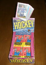Three 1987-88 OPC O-Pee-Chee Hockey Unopened Wax Packs