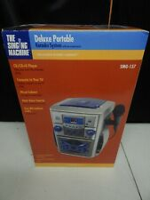 deluxe portable CD SMG-137 Karaoke machine system THE SINGING MACHINE