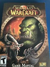 World of WarCraft Game Manual - Softback Book Very Good Condition