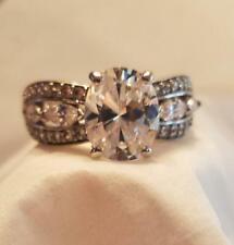 Infinite Splendor Diamonisse Sterling Silver Ring - Free Shipping