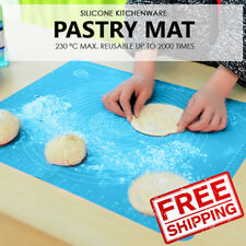 SOL Silicone Kitchenware Pastry Mat. M (50x40) Pink. 230° max. Reusable