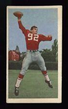 1954 BLUE RIBBON CFL FOOTBALL CARD~#68~SAM ETCHEVERRY~MONREAL ALOUTETTES~HOF