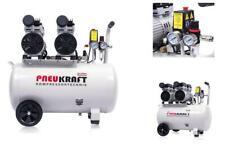 Compresseur d'air sans huile 50 L - 2 X 750 W - 8 bars
