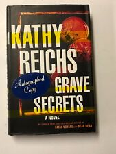 Grave Secrets by Kathy Reichs (2002, Hardcover) HAND SIGNED