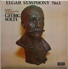DECCA SXL 6569 ELGAR Symphony n.1 SOLTI/LONDON UK LP