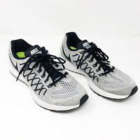 Nike Air Zoom Pegasus 32 Black/Gray Lace Up Running Sneaker Tennis Shoe Size 8.5