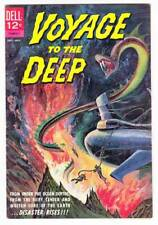 VOYAGE TO THE DEEP #1 - Dell Comics 1962 - very fine condition