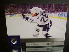 Rare Martin St. Louis Uppe Deck 2009 Card #87 Tampa Bay Lightning NHL Hockey