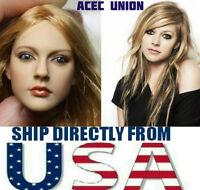 "KUMIK Avril Lavigne 1/6 Head Sculpt For 12"" Hot Toys Phicen Female Figure USA"