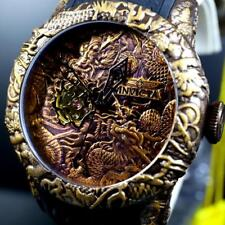 Invicta Empire Dragon Brown Copper Bronze Automatic 50mm Sapphire Watch New