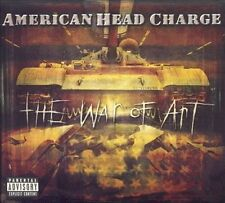 American Head Charge - THE WAR OF ART - 2001 CD - New, SEALED