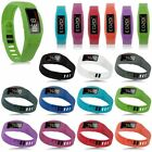 New Set of 10 Replacement Wrist Bands for Garmin Vivofit 2 with Clasps SM/LG