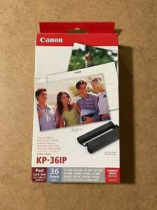 Genuine OEM Canon KP-36IP Paper Pack for Canon Printer (36 Sheets)