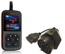 iCarsoft i910 + Adapter Diagnosegerät für BMW 3er 5er 7er e36 e46 e38 e39  OBD2