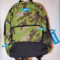 Fortnite Amplify Camouflage Backpack Kids Boys Girls Hiking School Camo Bookbag