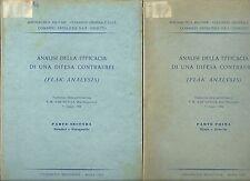 Analisi della efficacia di una difesa contraerei (Flak Analysis) - 2 volumi