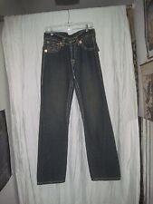 Blue Denim White Stitching Men's Jeans by True Religion Size 32 Waist