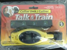 Talk & Train Dog Collar Unit