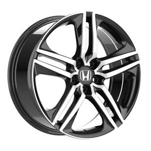 Set of 4 Wheels 18 inch Black Rims fits HONDA ACCORD SEDAN 4 CYL. 2008 - 2020