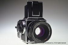 Hasselblad 503 CXi with CF Planar T * 80mm f/2.8,A12 film magazine,camera case